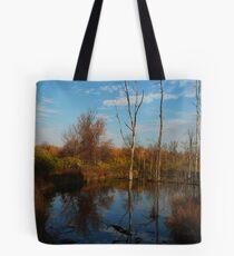"""Marsh Reflections"" Tote Bag"