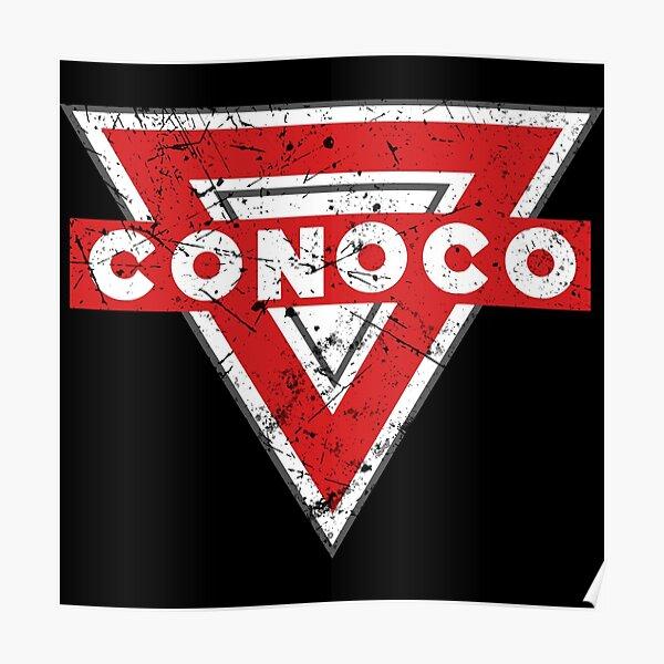 Conoco Oil Vintage Company Poster