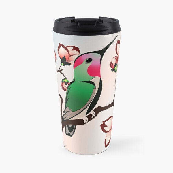 Hummingbird Spring Travel Mug