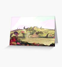 Steven Universe, Battlefield Greeting Card