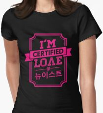 Certified NU'EST LOVE Women's Fitted T-Shirt