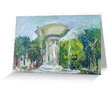 Fountain at Dupont Circle Greeting Card