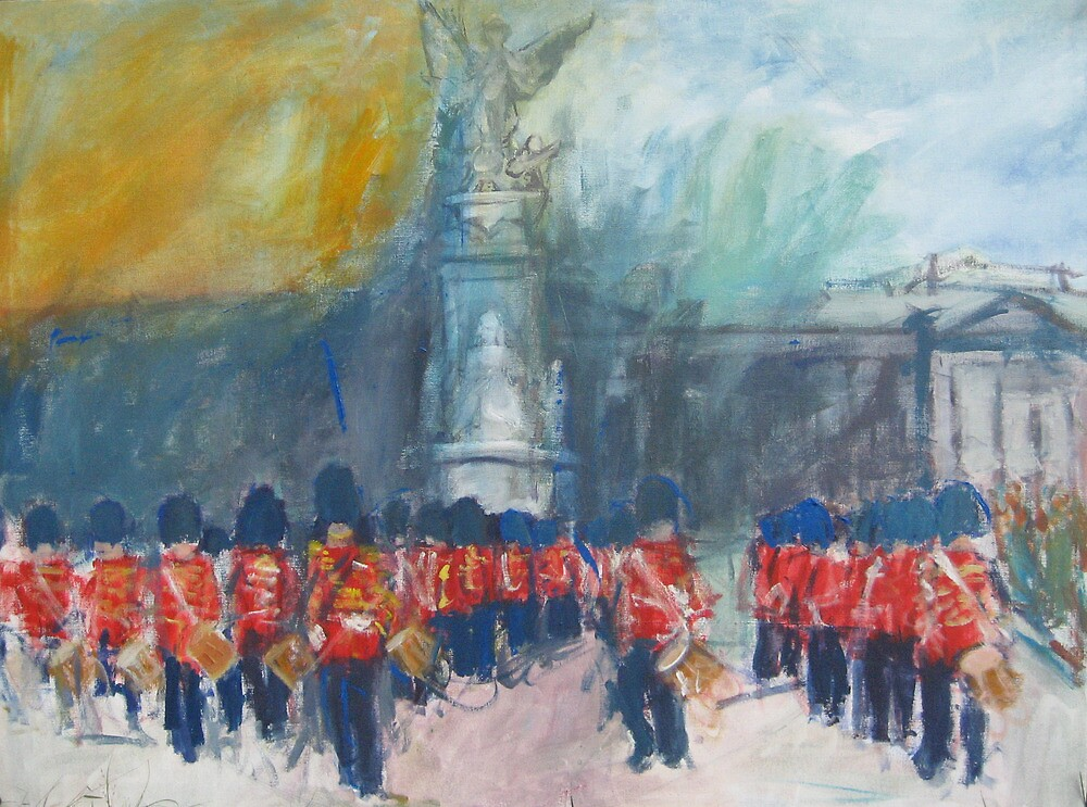 Buckingham Palace by Marcie Wolf-Hubbard