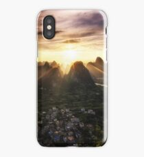 Laozhai Sunset iPhone Case