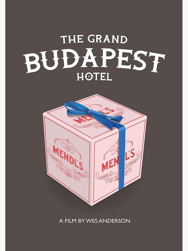 The Grand Budapest Hotel - Alternative Movie Poster by MoviePosterBoy