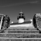 Old Point Loma Lighthouse, From The Stairwell by Glenn McCarthy