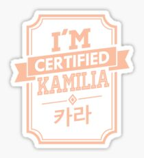 Certified KARA Kamilia Sticker