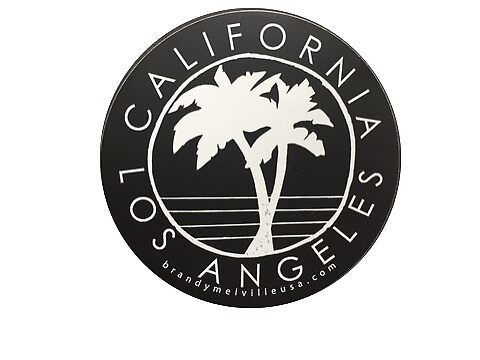 Quot Brandy Melville Los Angeles Ca Sticker Quot By Selinuenal13