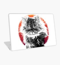 Angry Cat Laptop Skin