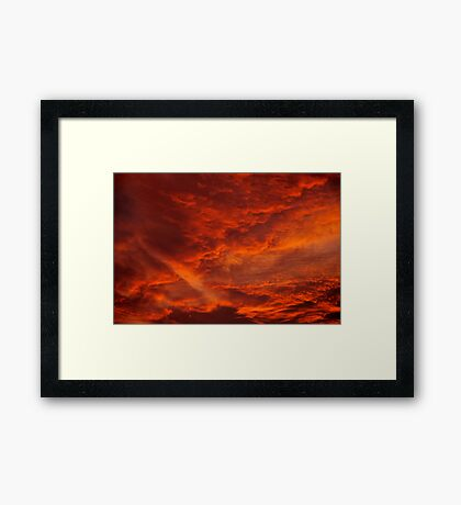 The Uncertain Future Framed Print