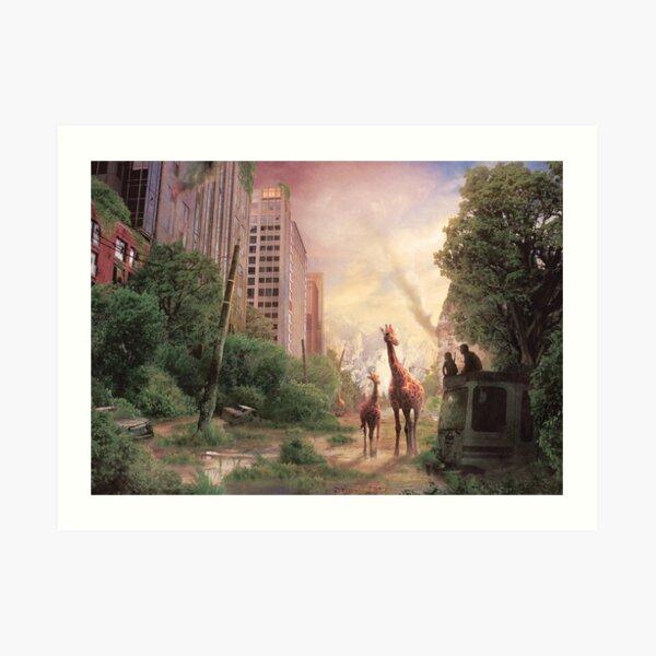 Journey's End  Art Print