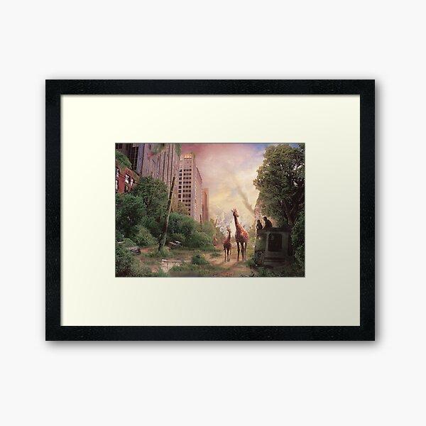 Journey's End  Framed Art Print