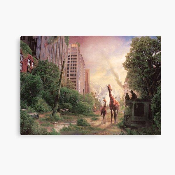 Journey's End  Impression sur toile