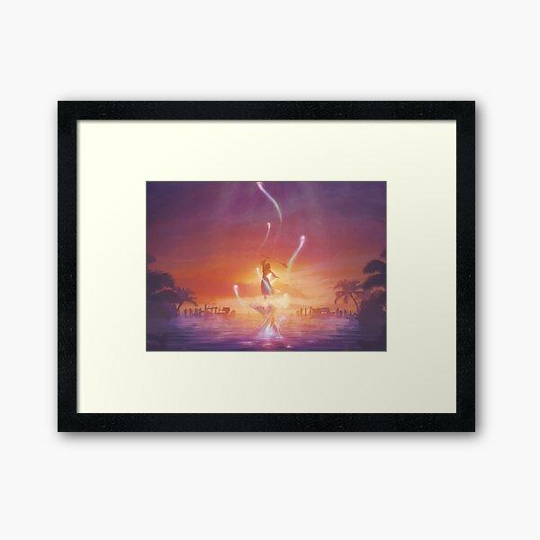 Song of Prayers  Framed Art Print