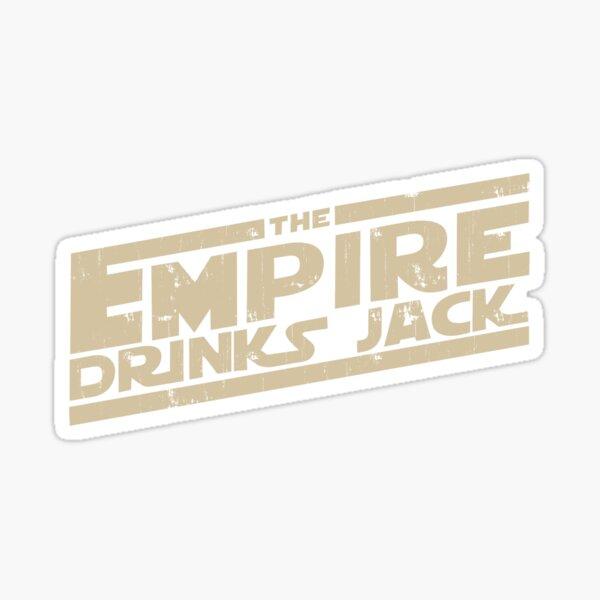 L'Empire boit Jack Sticker