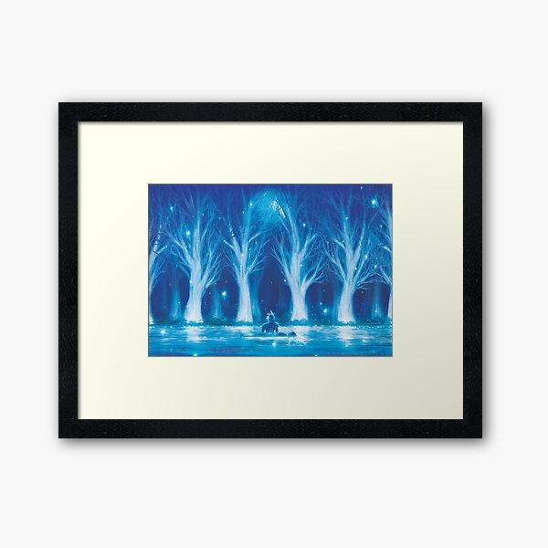 Life Stream  Framed Art Print