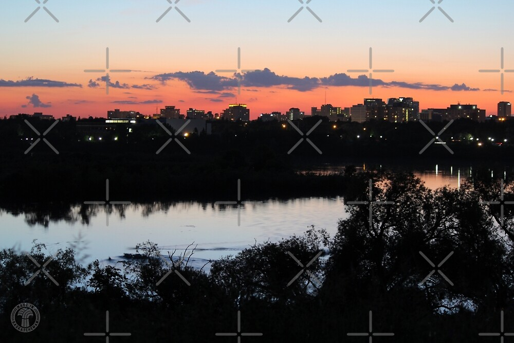Regina Skyline from Douglas Park Hill by madeinsask
