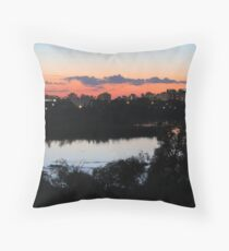 Regina Skyline from Douglas Park Hill Throw Pillow