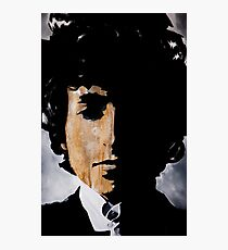 Bob Dylan Born already ruined Photographic Print