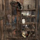 Still Life in a Shearing Shed - Wirrealpa Station - South Australia by Jeff Catford