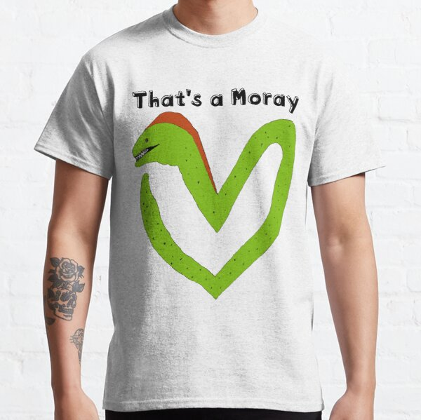 That's Amore, a Moray Eel Love Heart T-Shirt Classic T-Shirt