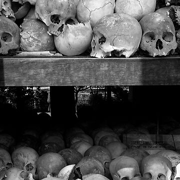 Legacy of Murder - Killing Fields of Choeung Ek, Cambodia by alexzuccarelli