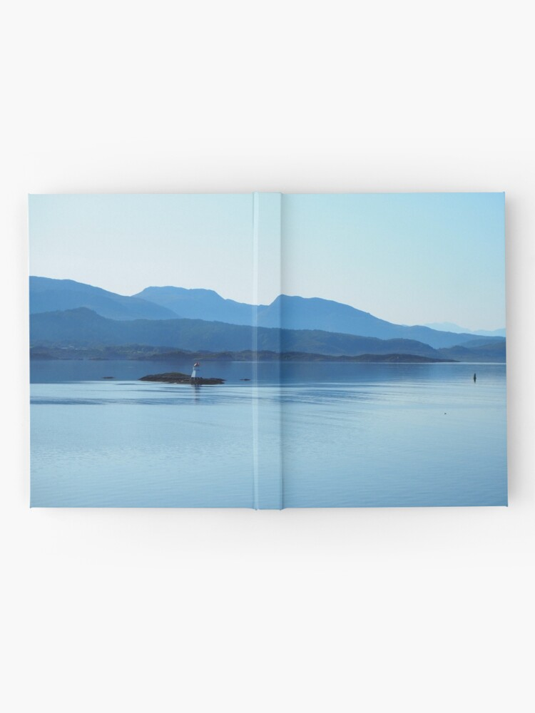 Alternate view of peace and tranquility on the sea Hardcover Journal