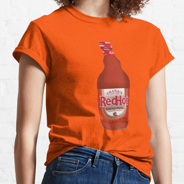 Franks RedHot Hot Sauce Bottle Classic T-Shirt