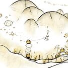 Monde Graine bohème - bohemian seed world by art-mella