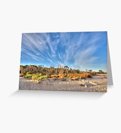 Busselton Beach, Western Australia Greeting Card