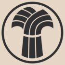 Made in Saskatchewan Sheaf Logo (Black) by madeinsask