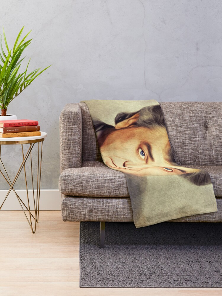 Alternate view of Conway Twitty, Country Legend Throw Blanket