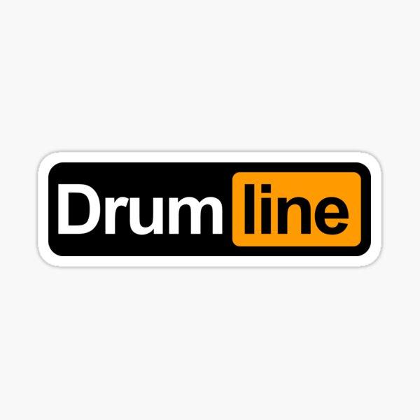 Drumline Sticker Sticker