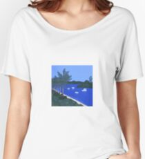 Major's Bay on a Sunny Day Women's Relaxed Fit T-Shirt