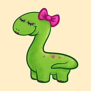 Rhapsody, the Cute Brontosaurus by telurico