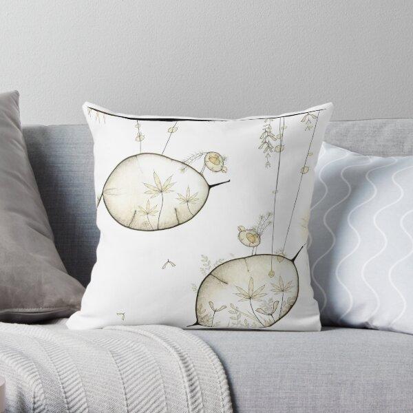 Dodo du monde graine - Seed world dodo Throw Pillow