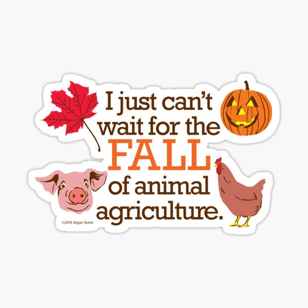 I just can't wait for the fall... Sticker