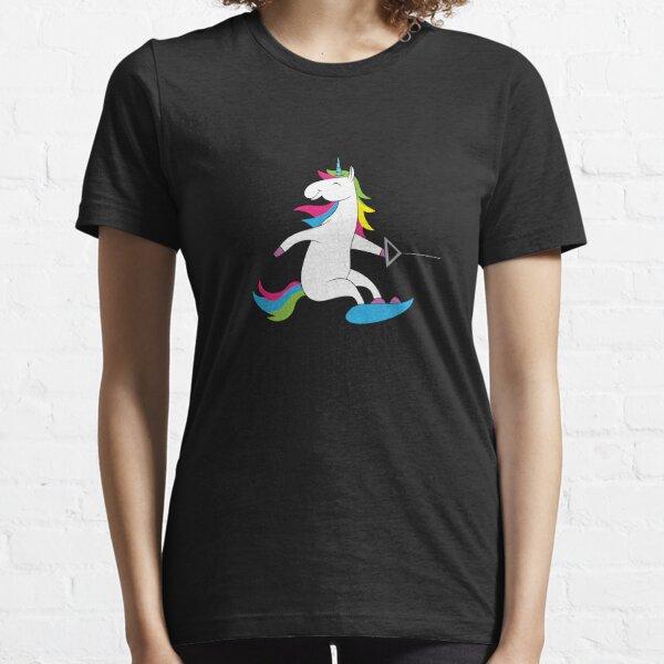 Wakeboard - unicorn on wakeboard Essential T-Shirt