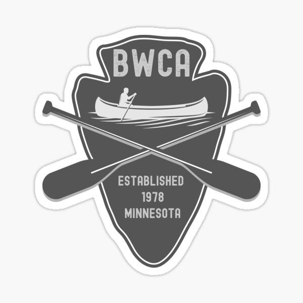 BWCA Boundary Waters Canoe Area Sticker