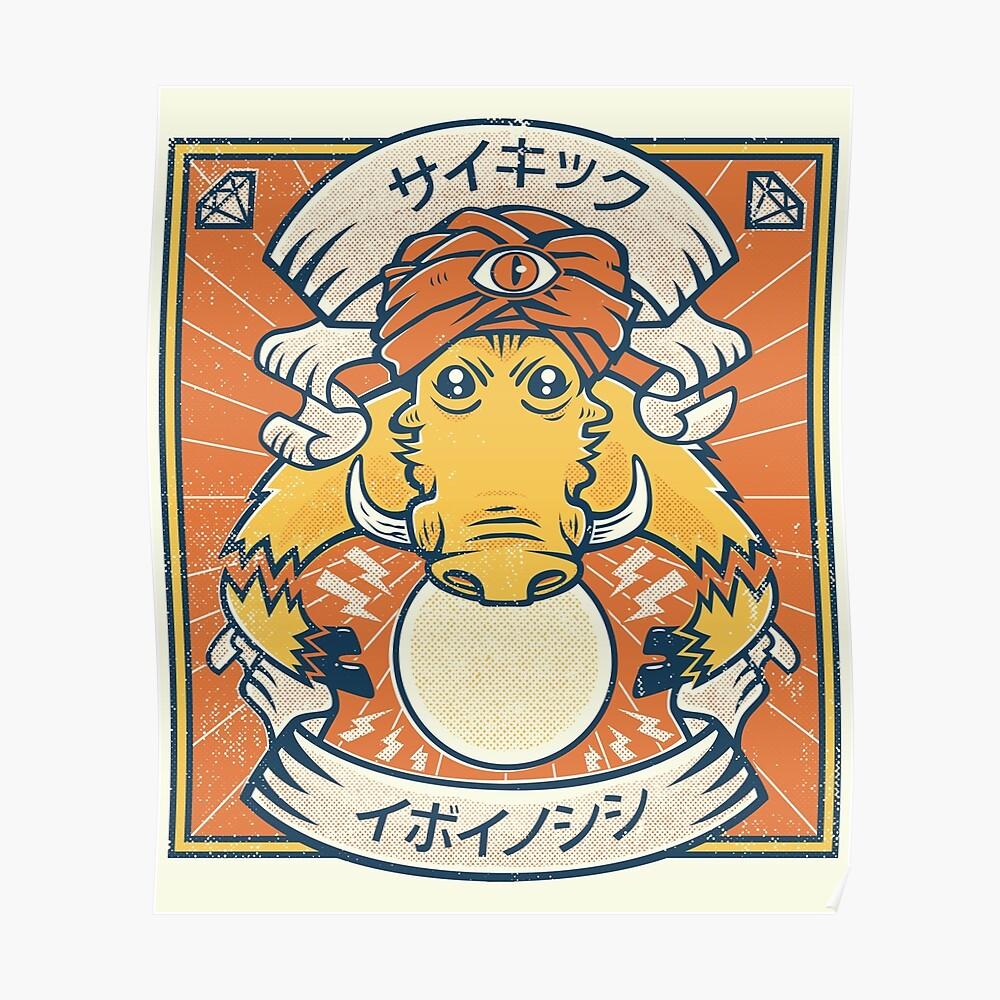 Psychic Warthog Poster