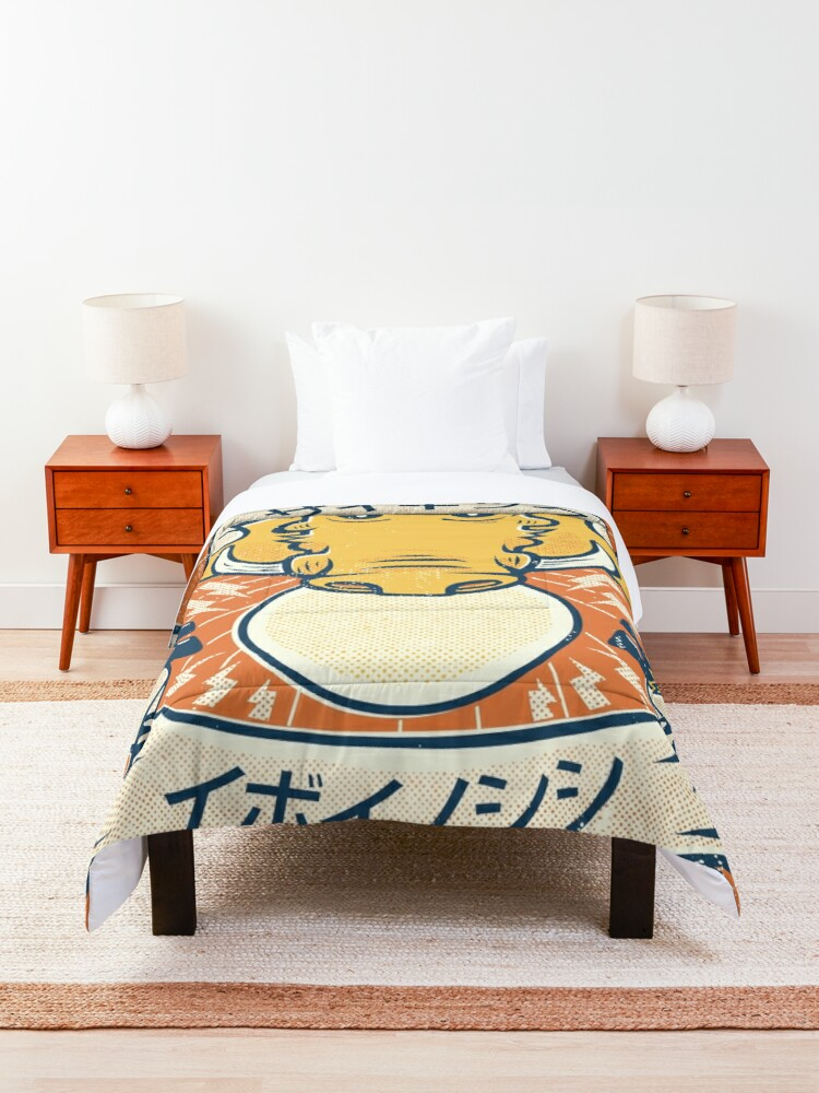 Alternate view of Psychic Warthog Comforter