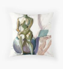 On The Ball Throw Pillow