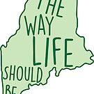 Maine So sollte das Leben grün sein von Molly Gold
