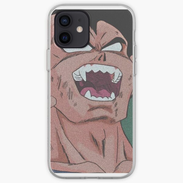 VEGETA TRANSFORMATION SAIYEN  (Dragon Ball Z) Coque souple iPhone