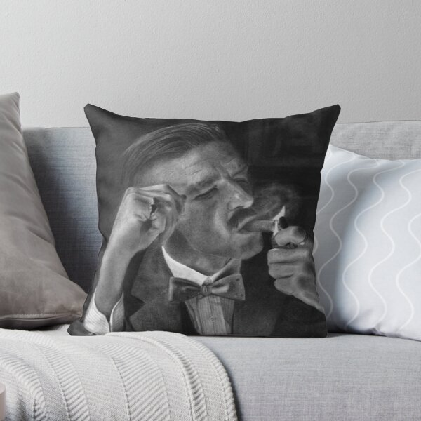 Arthur Shelby Throw Pillow