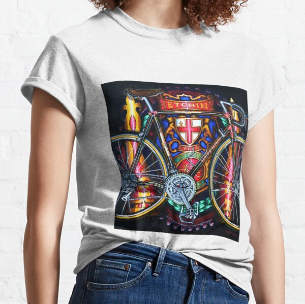 Hetchins Curly Bicycle Classic T-Shirt