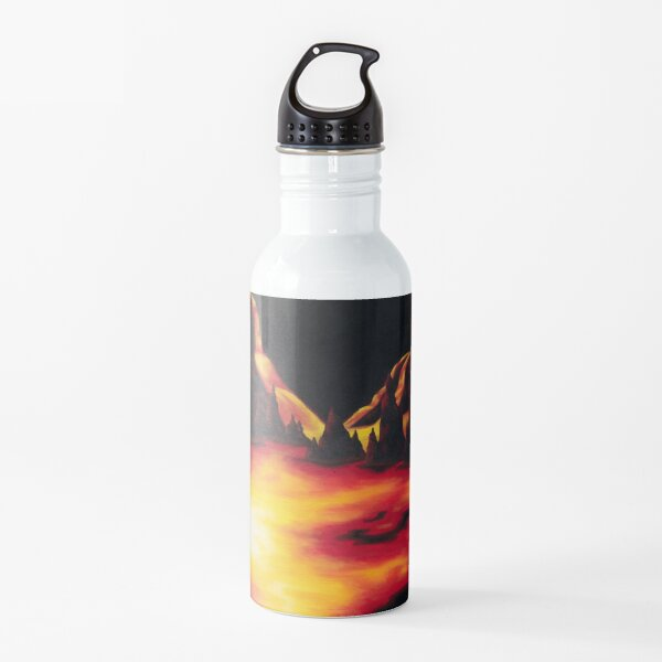 Red Hot Ride Water Bottle