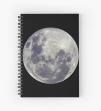 Supermoon Spiral Notebook