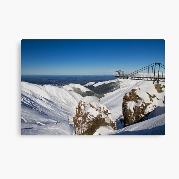 Mount Hutt Ski field Canvas Print