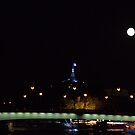 Paris - In the light of the Moon by Jean-Luc Rollier